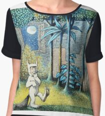 Where the Wild Things Are - Max in the jungle Women's Chiffon Top