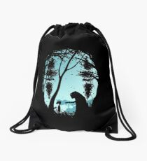 spirited away Drawstring Bag