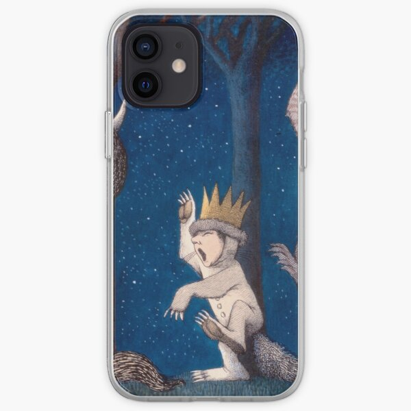Where the Wild Things Are Wild Rumpus at night iPhone Soft Case