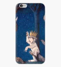 Where the Wild Things Are Wild Rumpus at night iPhone Case