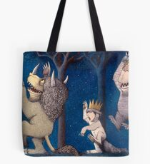 Where the Wild Things Are Wild Rumpus at night Tote Bag