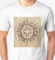 Wheel Mandala of Dharma  Unisex T-Shirt
