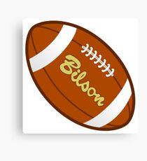Rugby Football Ball Canvas Print