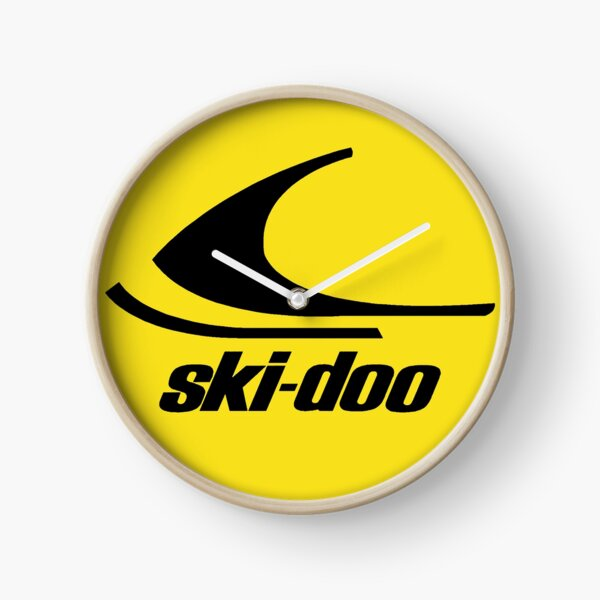 Ski Doo vintage Snowmobiles Clock