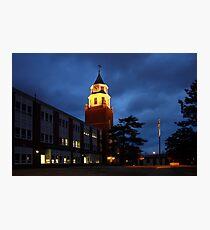 Pulliam Hall Clock Tower Photographic Print