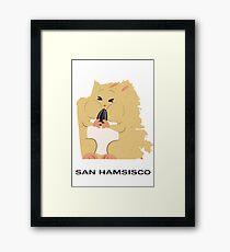 San Francisco (San Hamsisco) Framed Print