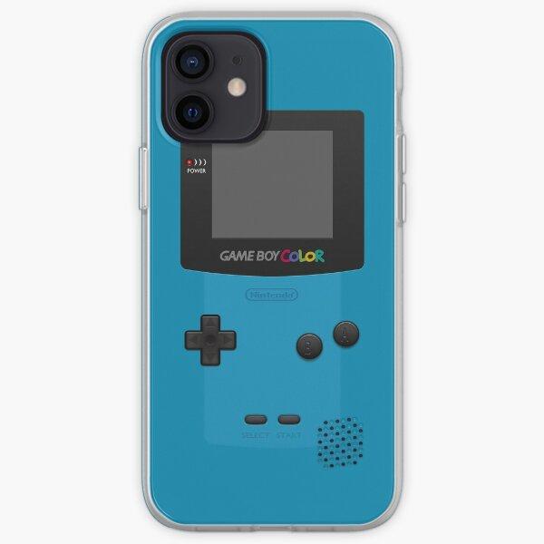 Blue Nintendo Gameboy Color iPhone Soft Case