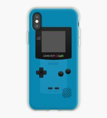 Blue Nintendo Gameboy Color iPhone Case