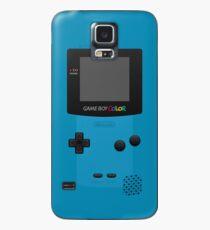 Blauer Nintendo Gameboy Color Hülle & Klebefolie für Samsung Galaxy