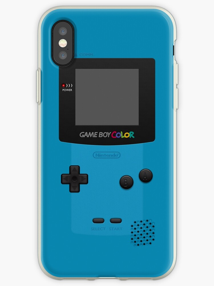 competitive price 1bfcd 51747 'Blue Nintendo Gameboy Color' iPhone Case by ~ *