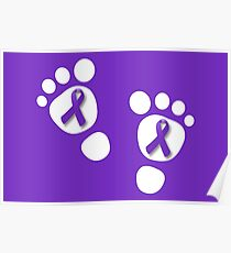 World Prematurity Day - Baby Feet Poster