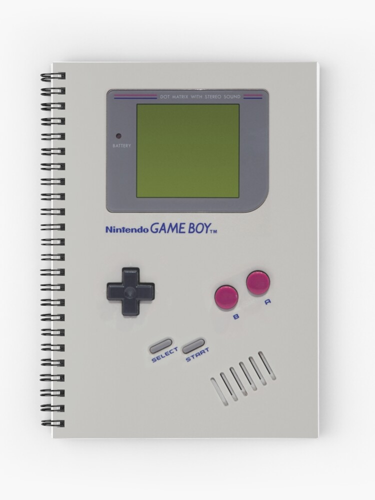 Nintendo Gameboy Pocket Classic Phone Case | Spiral Notebook