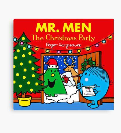 MR. MEN CHRISTMAS 1 Canvas Print