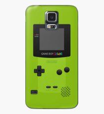 Grüne Nintendo Gameboy Farbe Hülle & Klebefolie für Samsung Galaxy