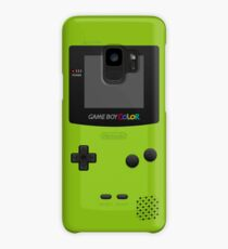 Green Nintendo Gameboy Color Case/Skin for Samsung Galaxy