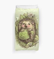 Little hedgehog colored Duvet Cover