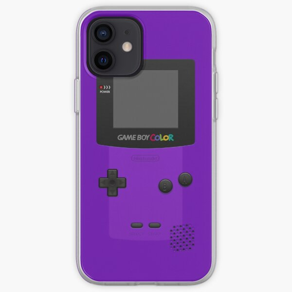 Purple Nintendo Gameboy Color iPhone Soft Case