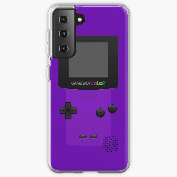 Purple Nintendo Gameboy Color Samsung Galaxy Soft Case