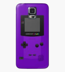 Lila Nintendo Gameboy Farbe Hülle & Klebefolie für Samsung Galaxy
