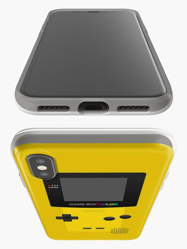 Vista alternativa de Vinilos y fundas para iPhone Color amarillo de Nintendo Gameboy