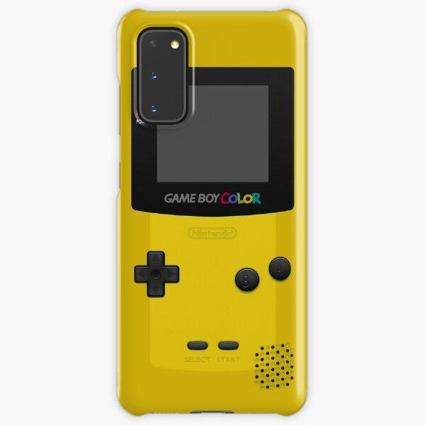 Yellow Nintendo Gameboy Color Samsung Galaxy Snap Case