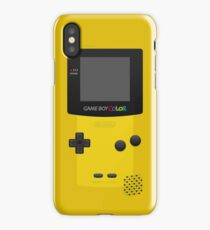 Yellow Nintendo Gameboy Color iPhone Case