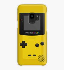 Yellow Nintendo Gameboy Color Case/Skin for Samsung Galaxy