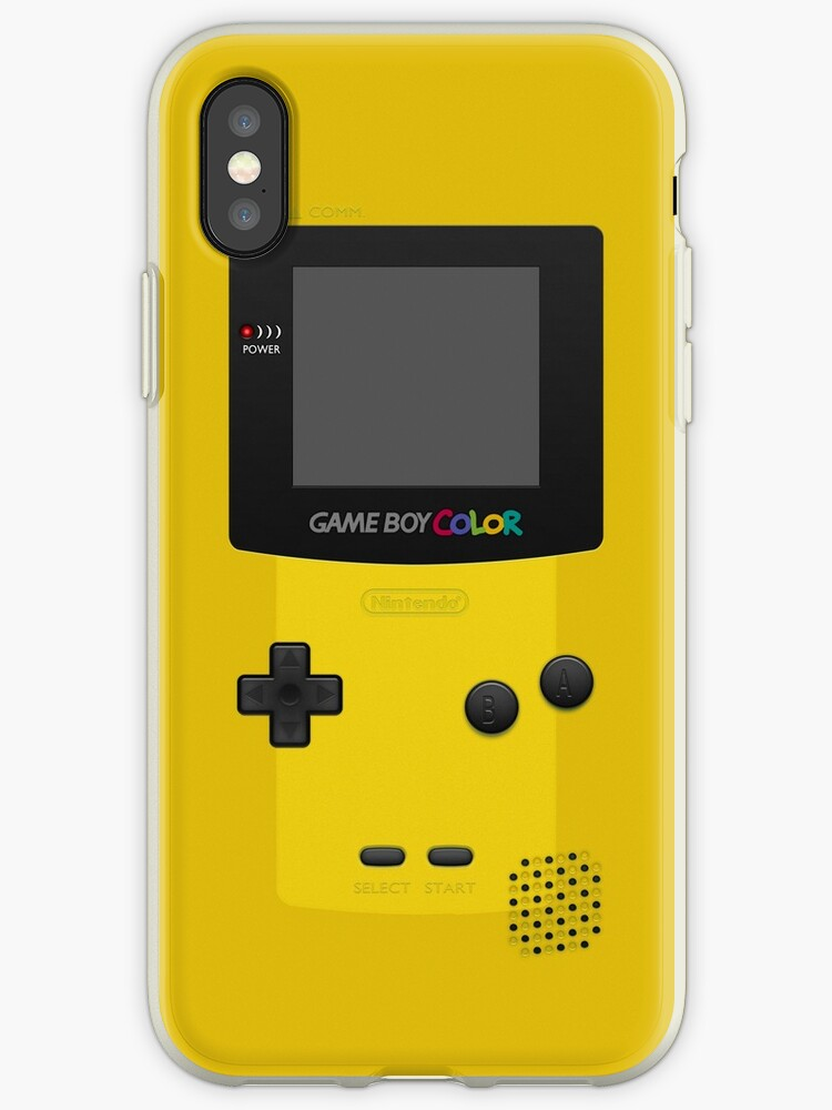 hot sale 83c6e 42eb2 'Yellow Nintendo Gameboy Color' iPhone Case by ~ *