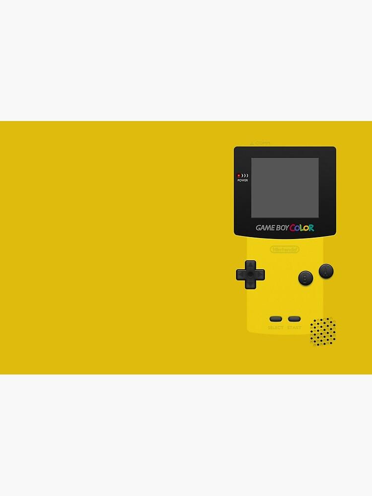 Gelber Nintendo Gameboy Color von bubblywums