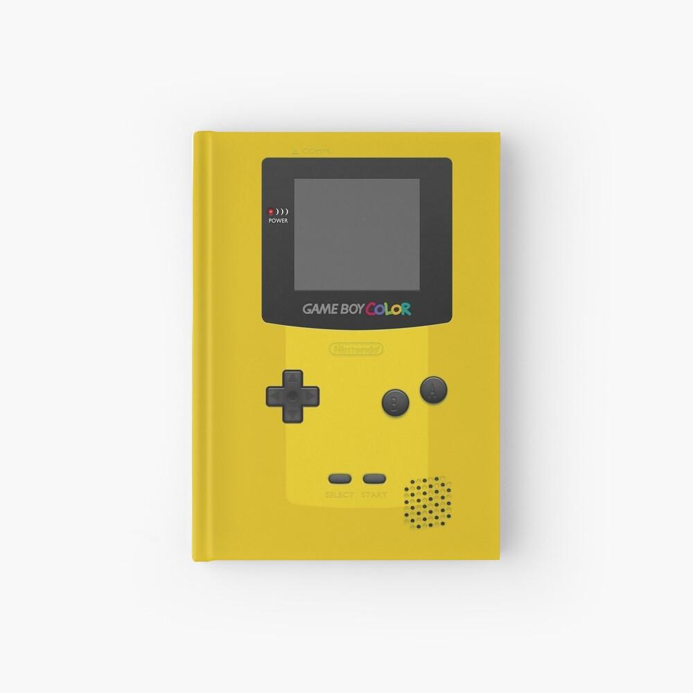 Gelber Nintendo Gameboy Color Notizbuch