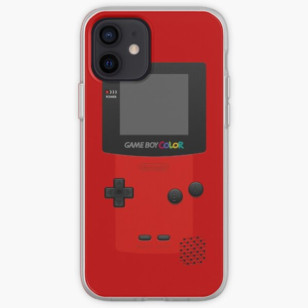 Red Nintendo Gameboy Color iPhone Soft Case