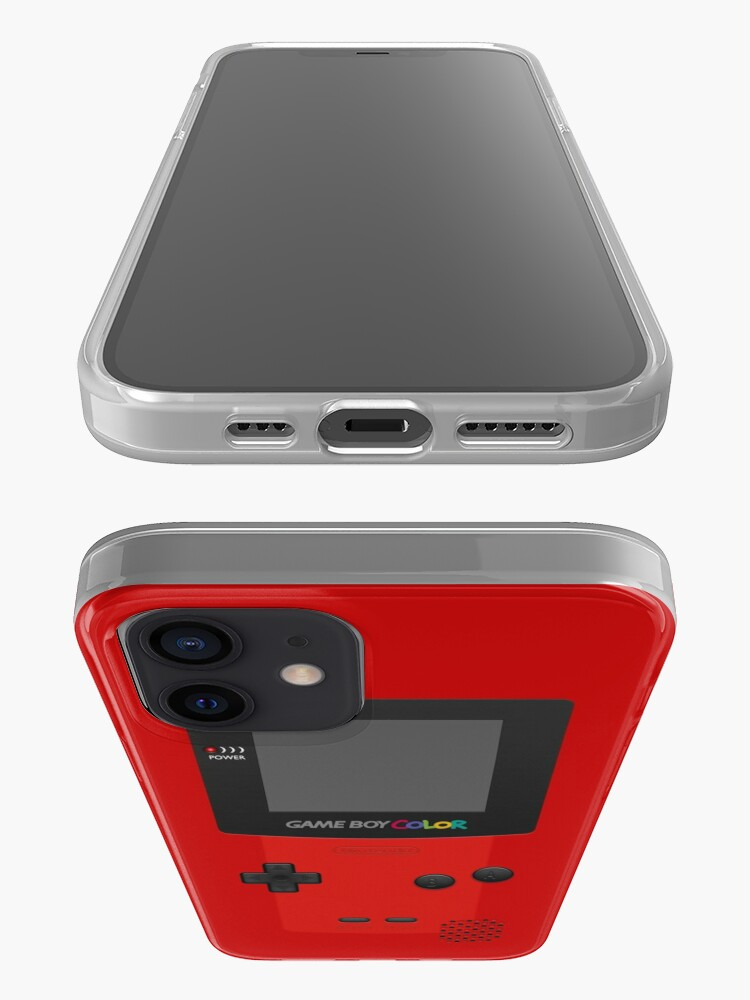Alternate view of Red Nintendo Gameboy Color iPhone Case & Cover