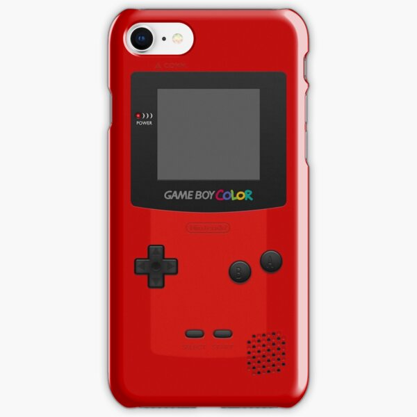 Red Nintendo Gameboy Color iPhone Snap Case