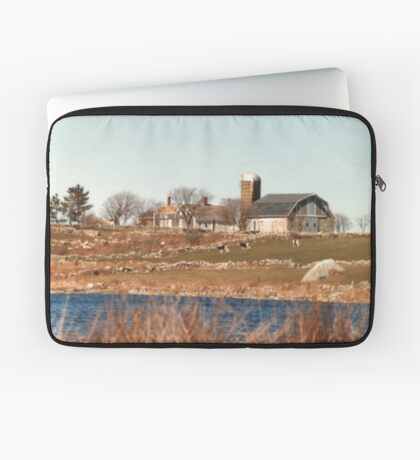 Old New England Farm Laptop Sleeve