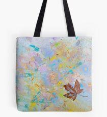 Soaring Leaf 'Rain Painting' Tote Bag