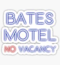 No Vacancy Here Sticker