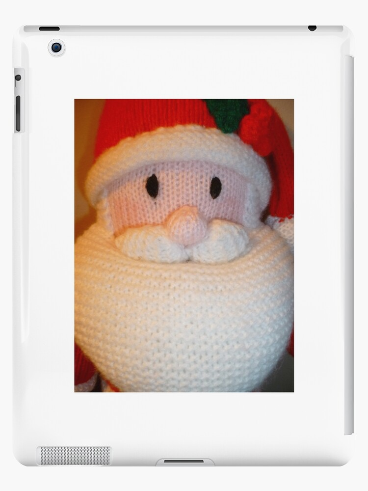 Hand Knitted Father Christmas by mrsmcvitty