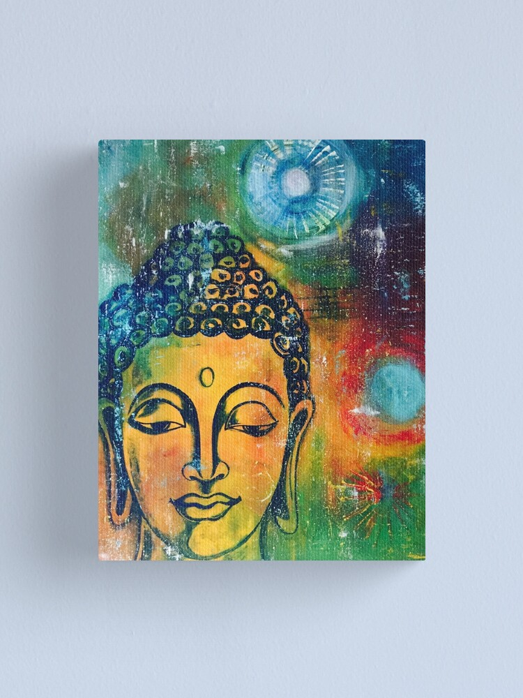 Alternate view of Buddha Inner Calm Canvas Print