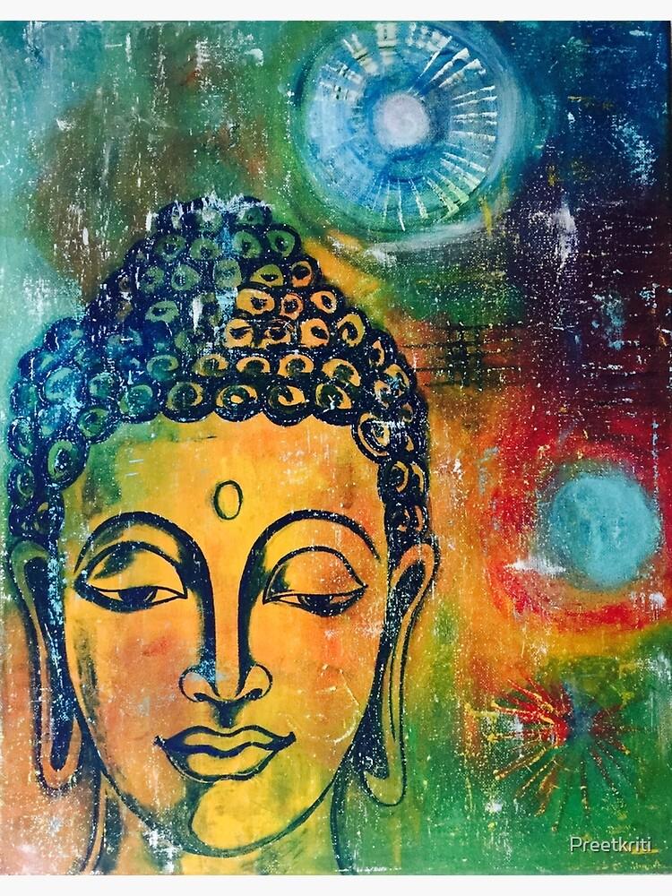Buddha Inner Calm by Preetkriti