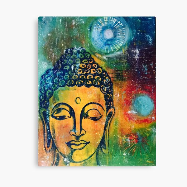 Buddha Inner Calm Canvas Print