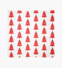 Christmas 2016 - Christmas Tree Design - Red and White Scarf