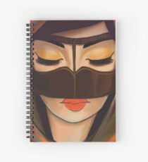 Burqa Beauty Spiral Notebook