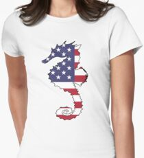 American Flag – Seahorse T-Shirt