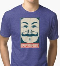 Mr. Anonymity Tri-blend T-Shirt