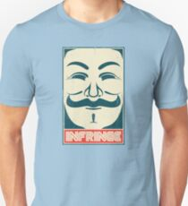 Mr. Anonymity Unisex T-Shirt