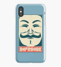 Mr. Anonymity iPhone Case