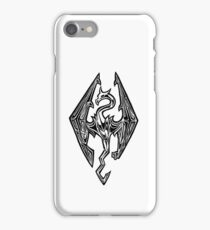 Skyrim Logo Dovah Dragon iPhone Case/Skin