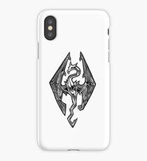Skyrim Logo Dovah Dragon iPhone Case/Skin