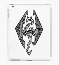Skyrim Logo Dovah Dragon iPad Case/Skin