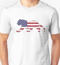 American Flag – Tiger Unisex T-Shirt
